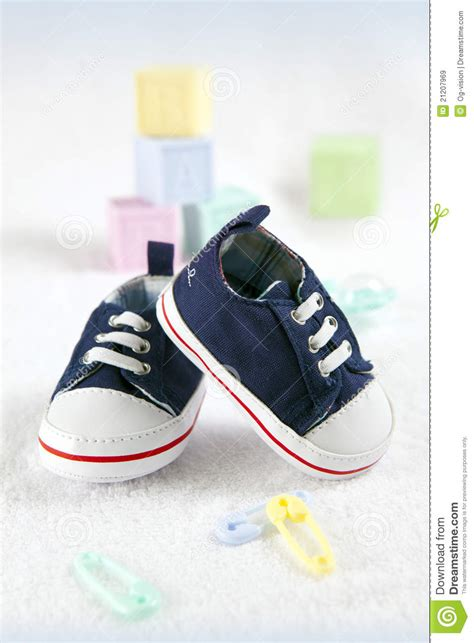 blue baby shoes blue baby shoes royalty free stock images image 21207969