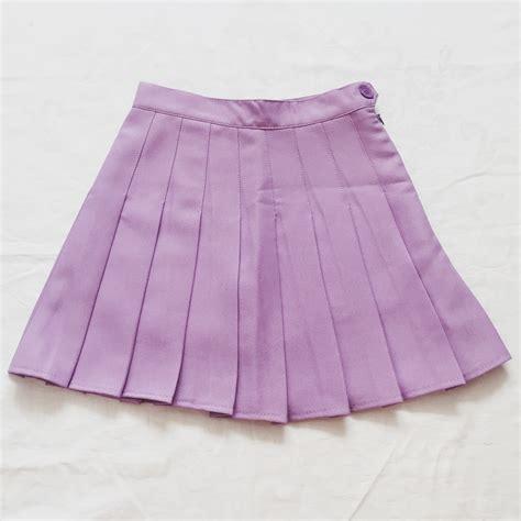 pleated tennis skirt lilac 183 megoosta fashion 183 free