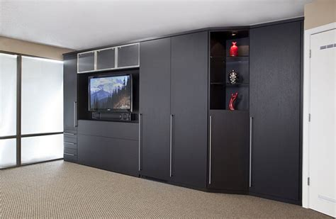 Home Theater Cabinetry Wall