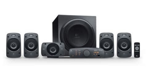 Home Theater Logitech Z906 logitech z906 5 1 thx speaker system computer alliance