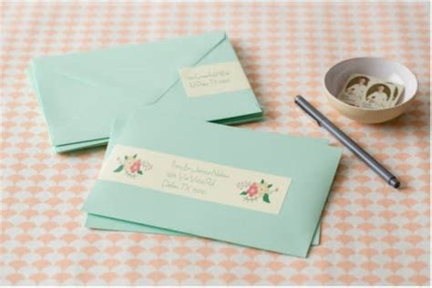 create custom address labels for your wedding stationery avery