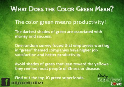 meaning of the color green what does the color green represent home design