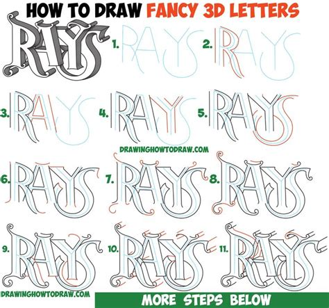 lettering tutorial easy 97 best cool lettering images on pinterest 3d letters