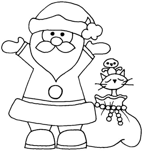 Coloring Cars In A Santa Pictures For Kids Pics Grig3 Org Santa Claus And Tree Coloring Pages