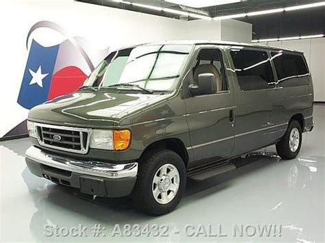 how to learn about cars 2004 ford e series parental controls buy used 2004 ford e 150 chateau 5 4l v8 7 pass leather only 50k texas direct auto in stafford