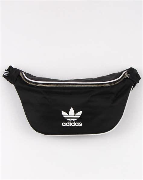 Waist Pack Adidas Black Greenlight adidas originals adicolor waist bag black mens clip bag