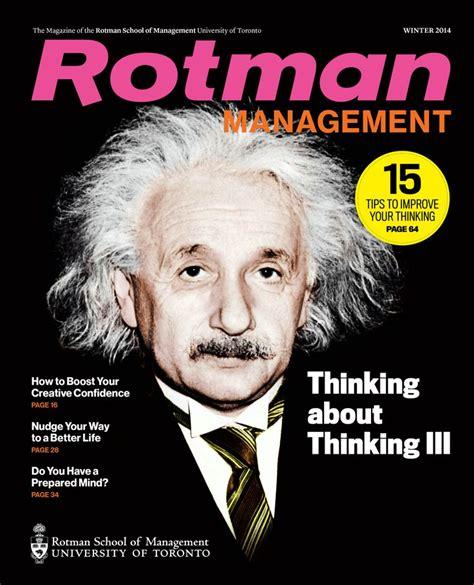 Rotman Mba Magazine by 77 Best Rotman Management Magazine Images On