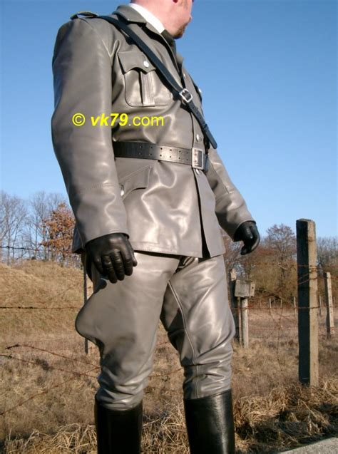 Grey Decor German Infantry Leather Uniform Breeches Pictures