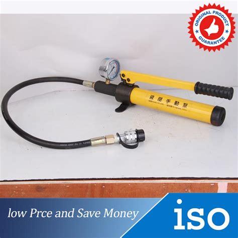 Pompa Hidrolik Manual buy grosir minyak hidrolik pompa tangan from china