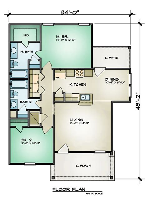 the 7159 2 bedrooms and 2 5 baths the house