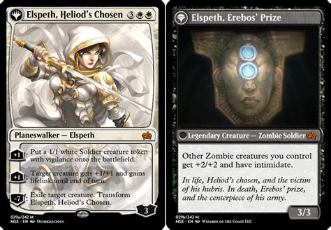 Planeswalker Card Template by M15 Template Update Including Beleren Font Now With