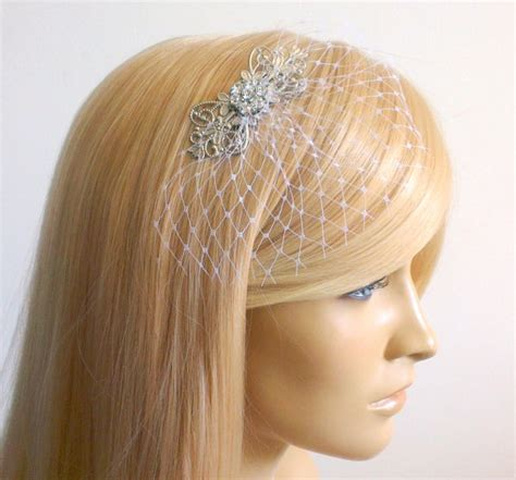 wedding hair with small veil small veil bridal bridal hair wedding
