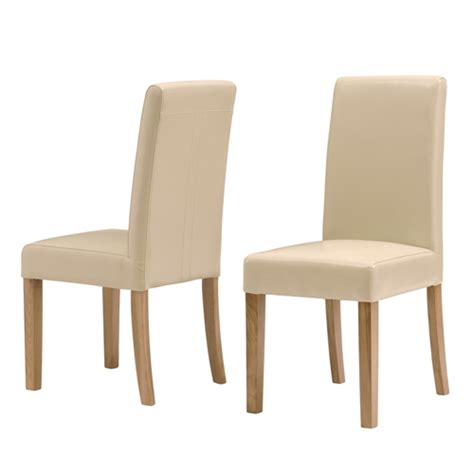 Free Dining Chairs Light Oak Leather Dining Chair J627 With Free Delivery The Cotswold Company Kocr