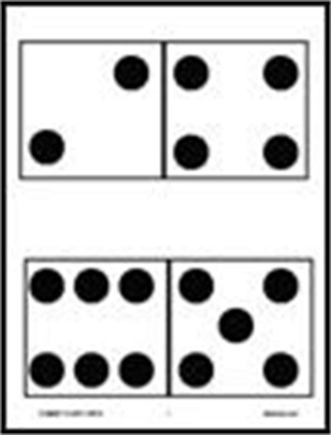 printable domino cards mathwire com dominoes