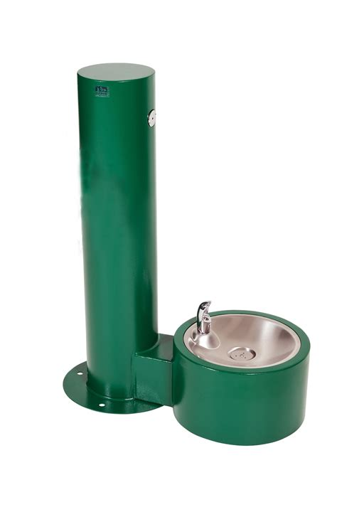 dogs watering watering station