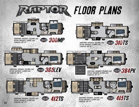 raptor toy hauler floor plans 2015 keystone raptor toy hauler