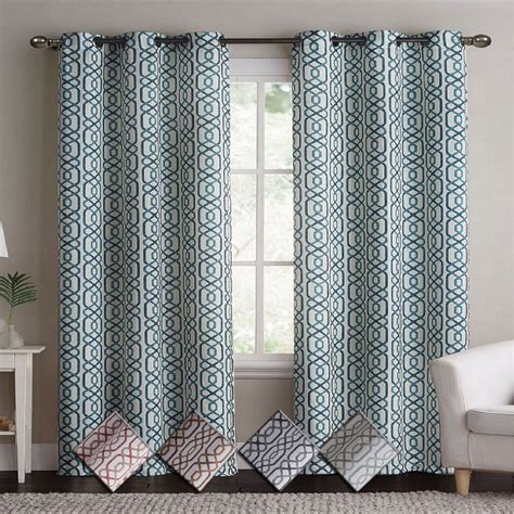 alexander curtains alexander thermal insulated woven blackout grommet panels