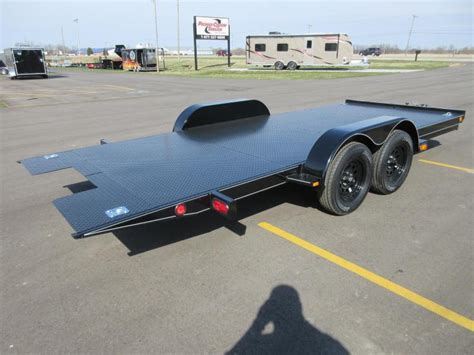 tilt bed car trailer 2018 nation tilt bed open car hauler w hydraulic dampening