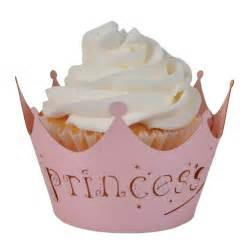 princess cupcake wrappers designs by brea