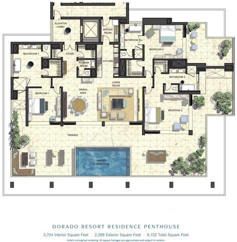 luxury penthouse floor plans luxury penthouse floor plans penthouse floor plans
