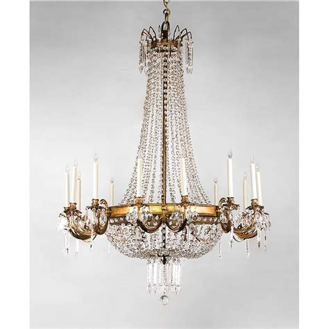 Styles Of Chandeliers Regency Style 14 Light Ormolu And Chandelier Sold On Ruby
