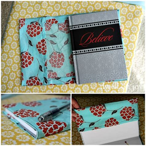 pattern fabric covered photo album craftionary