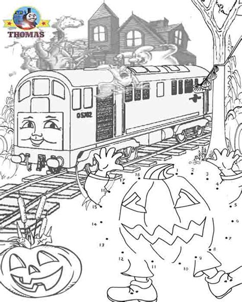 ghost train coloring page october 2010 train thomas the tank engine friends free