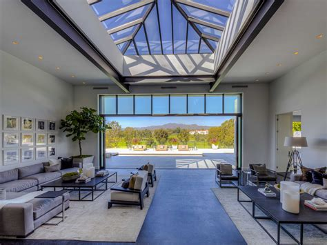 Livingroom Soho inside a gorgeous 23 million santa monica mansion with