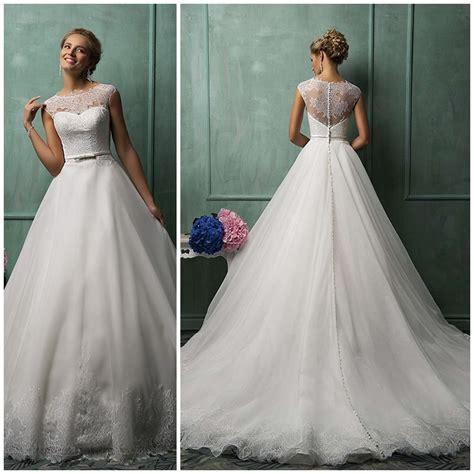 imágenes de vestidos de novia tipo princesa hermoso vestido de novia corte princesa de encaje elegante