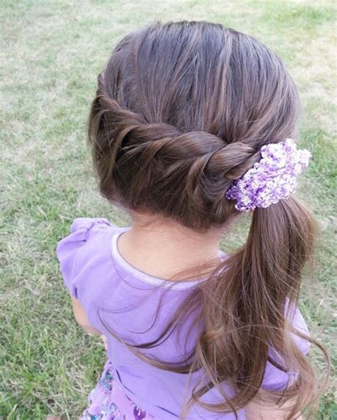 easy hairstyles little girl simple quick little girl hairstyle full dose
