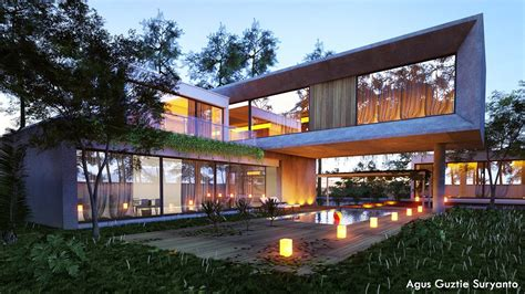 Hdri Bathroom Free 3d Models Houses Villas Concrete Block House