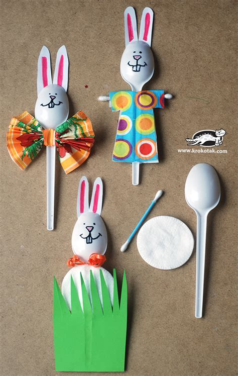 spring ideas krokotak five spring ideas from plastic spoons