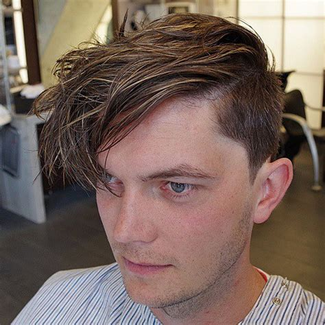 Mens Parted Hairstyles by 40 Side Parted S Hairstyles