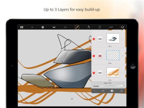 sketchbook pro new layer sketchbook express for on the app store