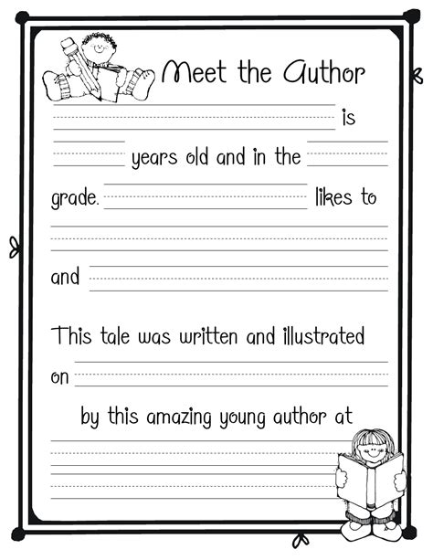 about the author template meet the author template pdf educaton