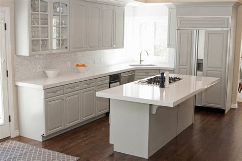 Kitchen Countertops White Cabinets by Charming White Granite Countertops For Elegant Kitchen