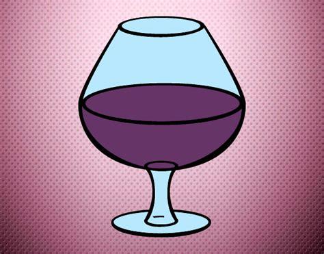 disegni bicchieri disegno bicchiere di vino colorato da thegiolly il 14 di