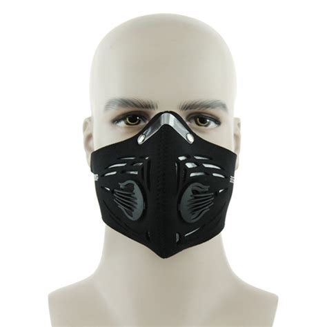 mouth mask buy cycling bike bcycle activated charcoal mask head mouth