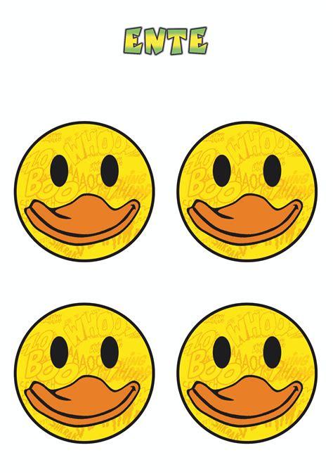 Smiley Bilder Aufkleber by Aufkleber Smily Ente 4er Set 150 X 105 Mm Schneller