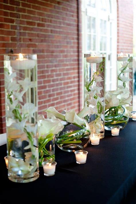 centerpieces with orchids 17 best ideas about submerged flower centerpieces on