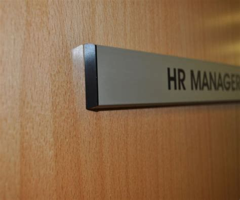Office Signs For Glass Doors Aluminium Door Signs Office Signs Brunel Engraving
