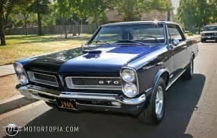Pontiac Gtos For Sale 1965 Pontiac Gto For Sale Id 27970
