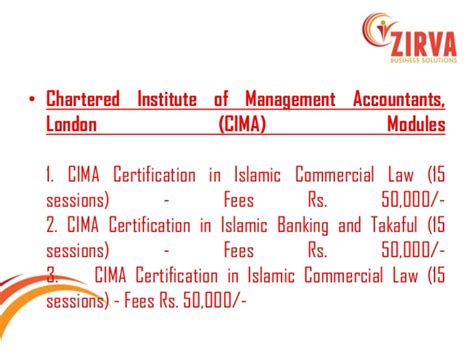 Convert Cima To Mba by Musharaka
