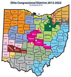 us congressional districts map by zip code how gerrymandered ohio congressional districts limit the