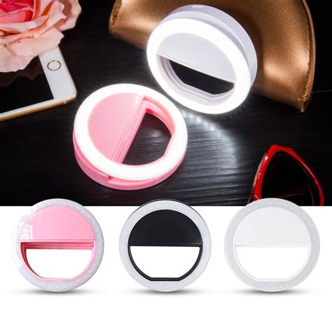 flashing light when phone rings android selfie flash led phone camera photography ring light for
