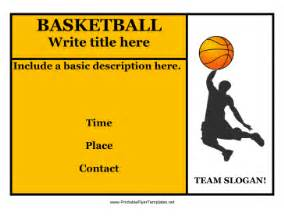 basketball c brochure template basketball c flyers templates images frompo