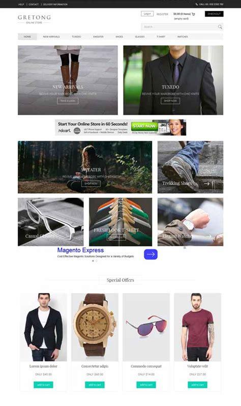 50 Best Ecommerce Website Templates Free Premium Freshdesignweb Best Ecommerce Website Templates Free