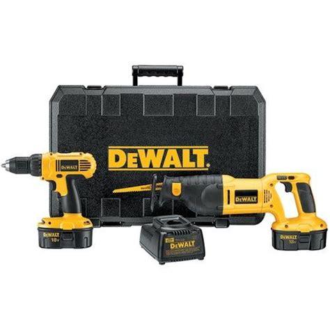 dewalt dccar  cordless compact drill  volt reciprocating  combo kit
