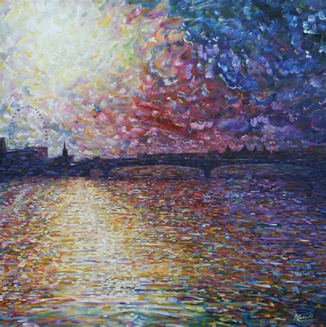 paintings for sale uk waterloo bridge river thames painting for sale pete