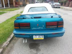 Pontiac Sunbird For Sale 1992 Pontiac Sunbird Se Convertible 2 Door 3 1l For Sale